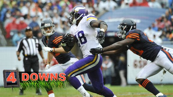 Four Downs: Peterson in for a big day?