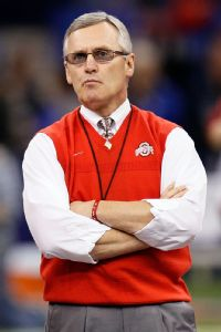 Tressel says he has not talked with Browns