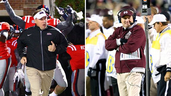 Hugh Freeze and Dan Mullen