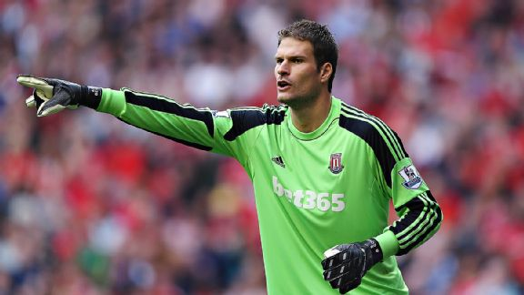 Most Stoke City supporters expect Asmir Begovic to leave for a Champions League club soon.