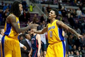 Nick Young, Jordan Hill