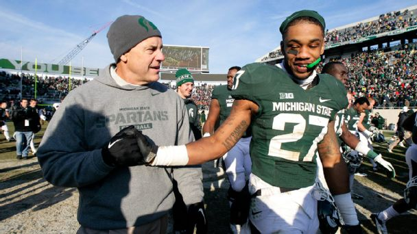 Mark Dantonio, Kurtis Drummond