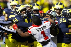 Ohio State-Michigan fight