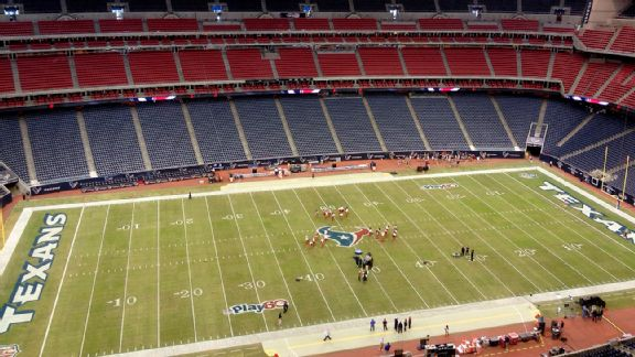 Welcome to Reliant Stadium