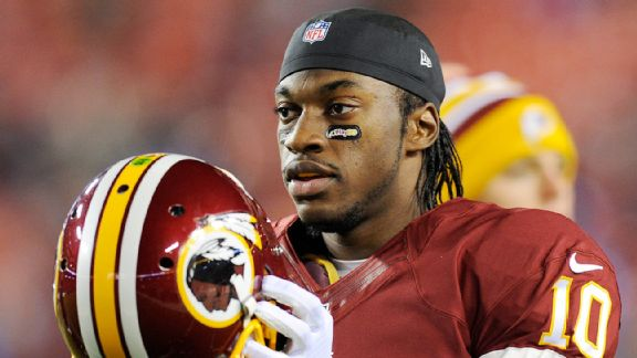 Robert Griffin III off to a good start