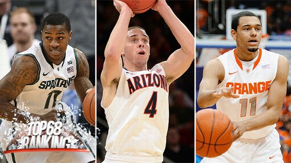 Keith Appling, T.J. McConnell, and Tyler Ennis