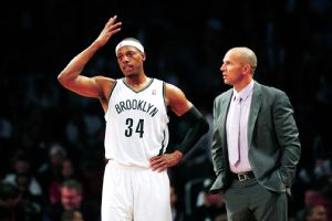 Paul Pierce and Jason Kidd