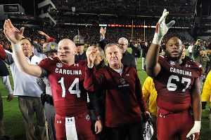 Connor Shaw, Steve Spurrier, Ronald Patrick