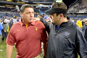 Ed Orgeron and Steve Sarkisian