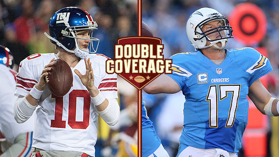 Double Coverage: Giants at Chargers