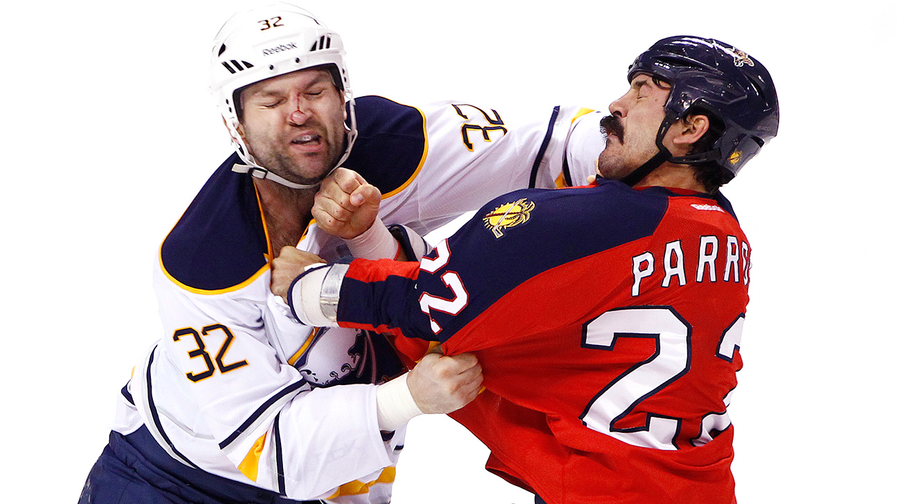 George Parros College George Parros Fighting The
