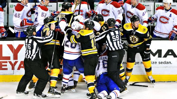 Bruins/Canadiens