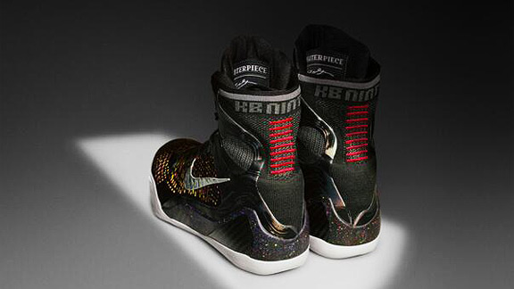 Courtesy Nike Kobe Bryant's new Nike sneakers feature stitching to