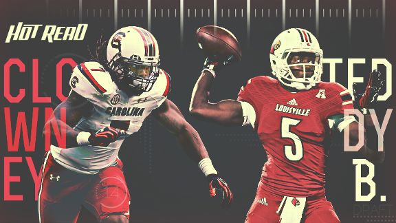 NFL Hot Read, Clowney/Bridgewater