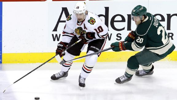 Patrick Sharp, Ryan Suter
