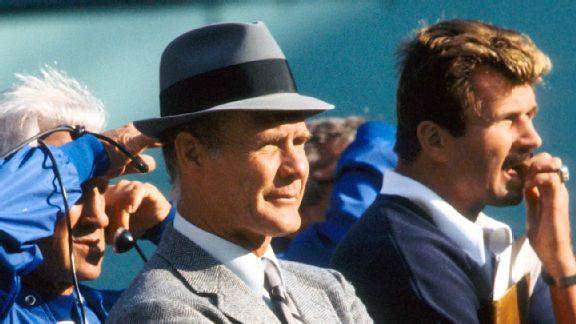 Tom Landry and Mike Ditka