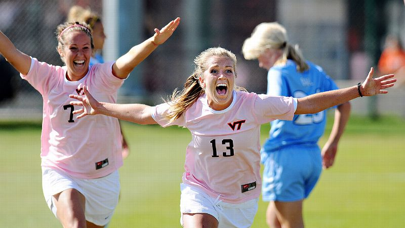 Before post-concussion symptoms ended her career early, Kelly Conheeney had already become Virginia Tech's all-time leader in points.