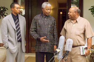 Nelson Mandela, Tiger Woods, Earl Woods