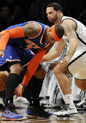 Carmelo Anthony, Deron Williams