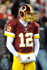 Redskins' Cousins to start in place of RG III