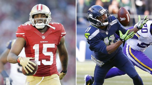 No. 1 receivers key to Seahawks-49ers