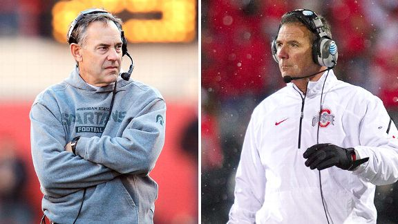 Mark Dantonio, Urban Meyer