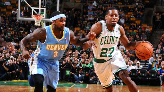Jordan Crawford and Ty Lawson