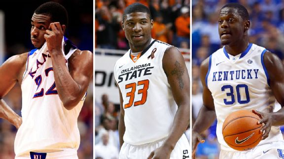 Andrew Wiggins, Marcus Smart, Julius Randle