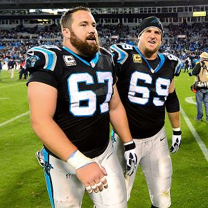 Ryan Kalil and Jordan Gross