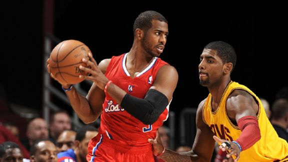 Chris Paul and Kyrie Irving