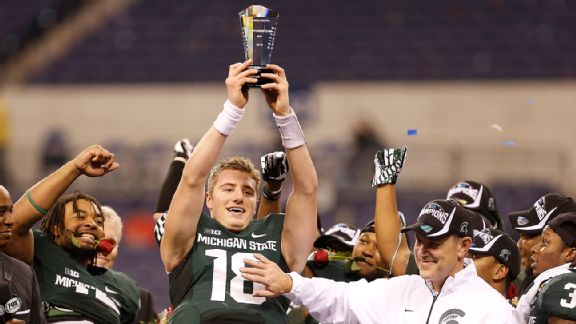 Connor Cook, Mark Dantonio