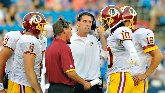 QB would be key for Shanahan in Cleveland