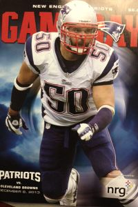 Patriots-Browns game day magazine
