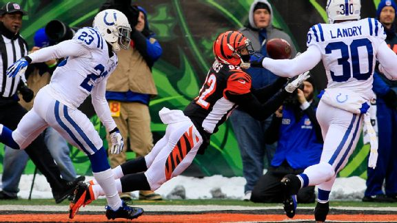 An eye on competition, Bengals do their job