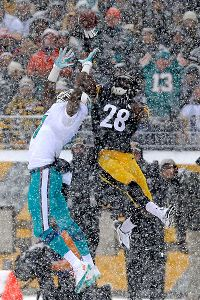 Cortez Allen and Mike Wallace
