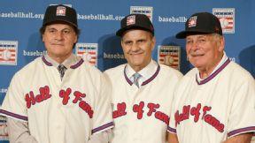 Joe Torre, Tony La Russa, and Bobby Cox