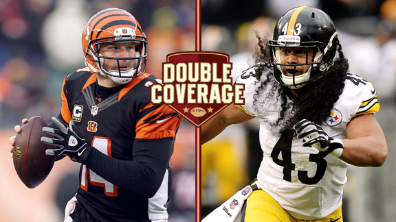 Andy Dalton, Troy Polamalu