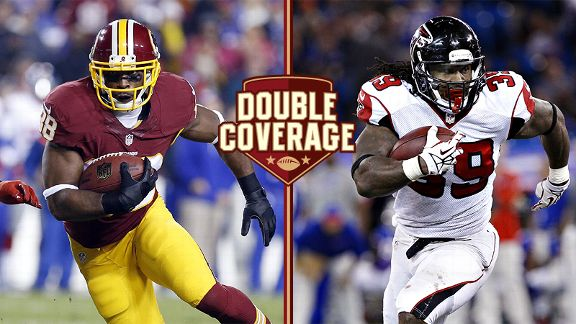 Double Coverage: Redskins at Falcons