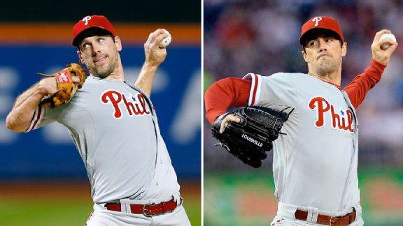Cliff Lee and Cole Hamels