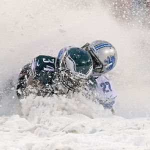 Philadelphia Eagles and Detroit Lions