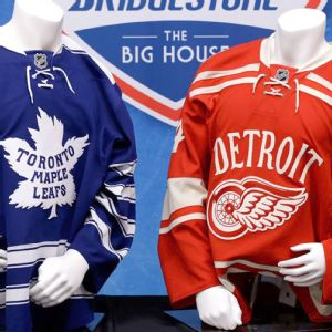 Winter Classic jerseys