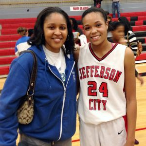 Napheesa Collier and Maya Moore