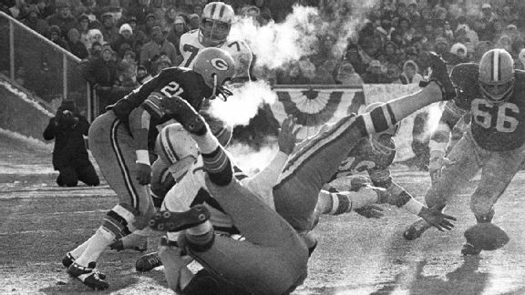 Sunday's game at Lambeau is drawing comparisons to the Packers' 1967