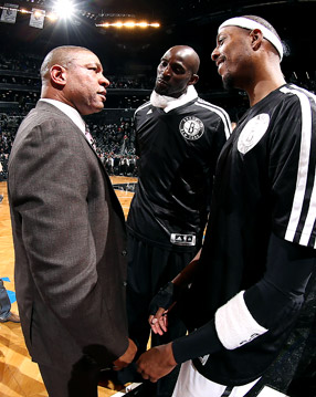 Kevin Garnett, Paul Pierce, Doc Rivers