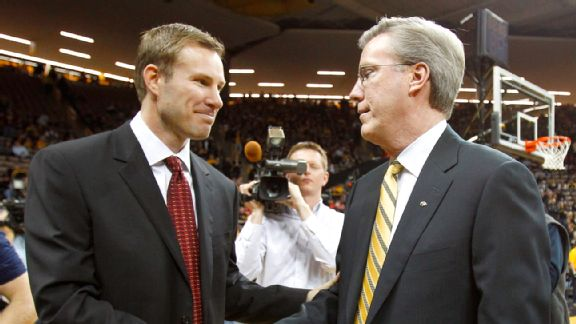Fred Hoiberg and Fran McCaffery