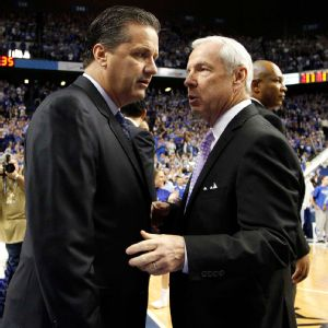 John Calipari, Roy Williams
