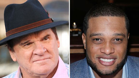 Pete Rose and Robinson Cano