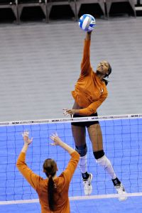 Bailey Webster and Texas are trying to soar to a second straight NCAA championship.