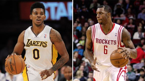 Nick Young, Terrence Jones