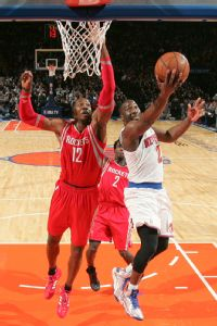 Dwight Howard and Raymond Felton